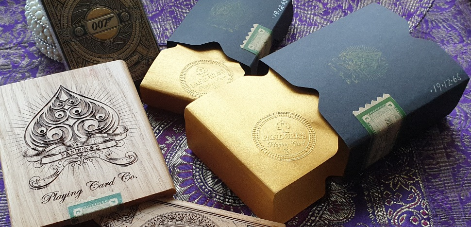 Luxury playing card gift sets