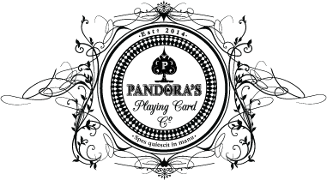 Pandora Playing Cards Logo